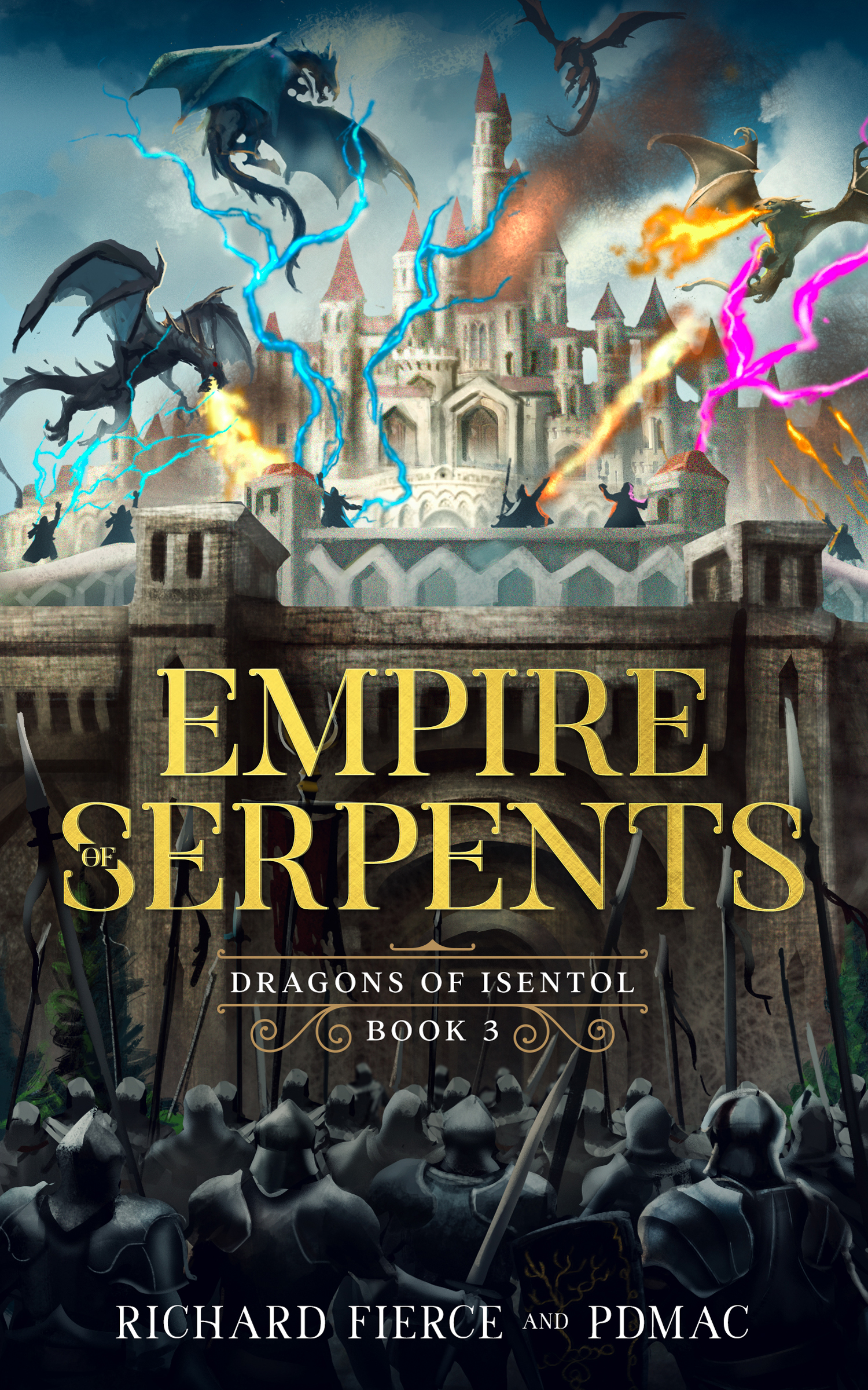Empire of Serpents Book 3 eBook Cover