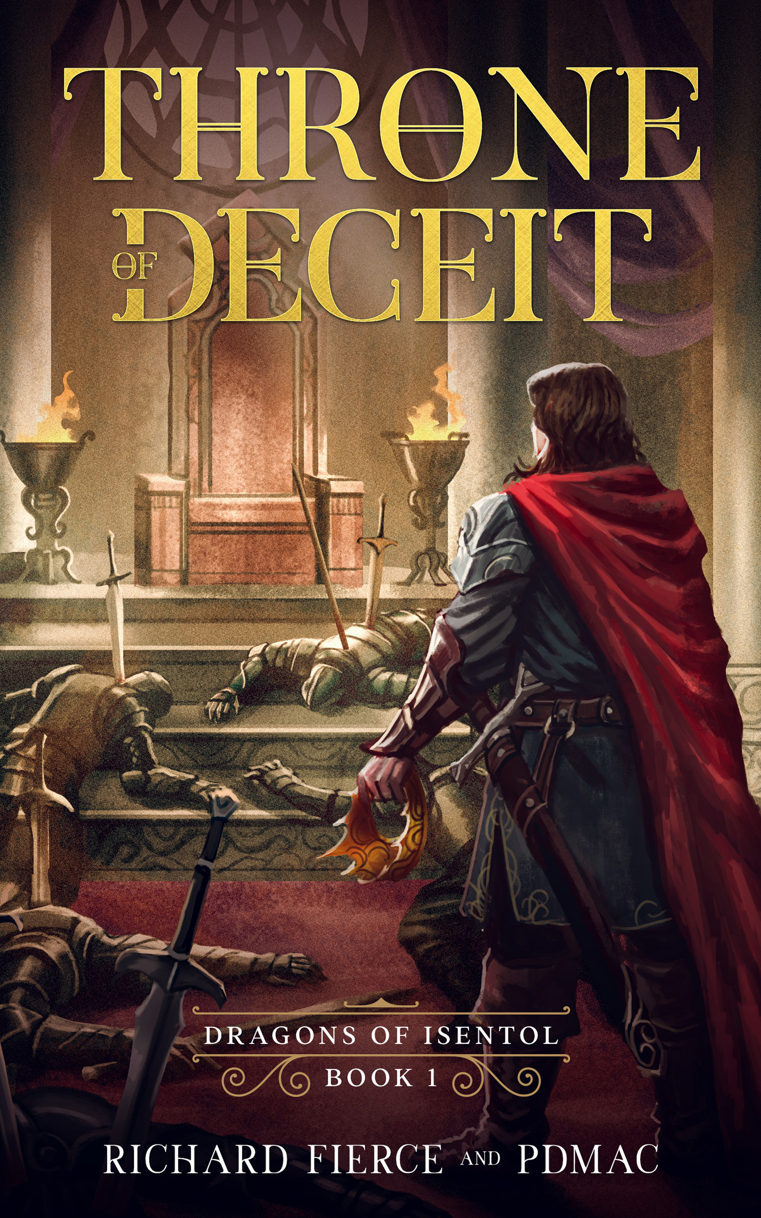 Throne of Deceit Book 1 eBook Cover